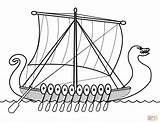 Viking Coloring Ship Drakkar Pages Ships Boat Drawing Colouring Printable Longship Cruise Boats Template Sailboat Sketch Getdrawings Paper sketch template