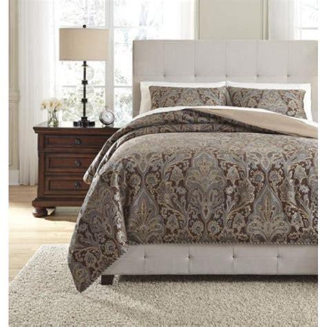 fashionable design ashley furniture bedding kira queen