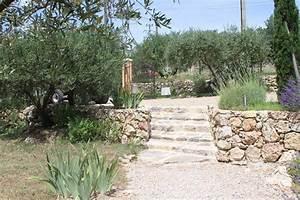 deco photo pierre et jardin terrasse provencale maison With idee deco jardin terrasse 0 deco terrasse provencale