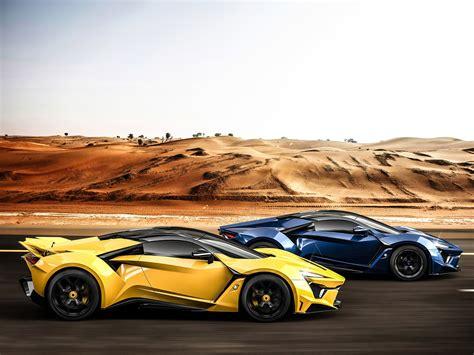 Motors Fenyr Car Road Desert Vehicle Wallpapers