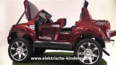 ford ranger kinderauto kinderauto ford ranger rood rubberen banden