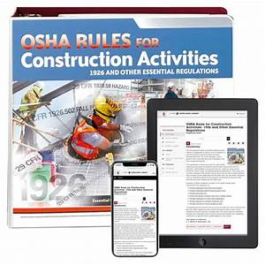 Osha Rules For Construction Activities Manual