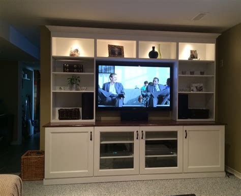 design wall unit cabinets white ikea besta entertainment center with recessed