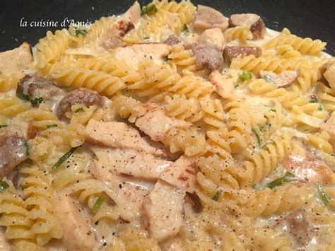 cepes cuisine one pot pasta poulet rôti cèpes blogs de cuisine