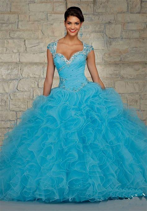 light blue 15 dresses light blue puffy quinceanera dresses naf dresses