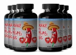 Testosterone Supplements -  U0026quot Make My Pepper Big U0026quot - Men Sexual Energy Booster 6b