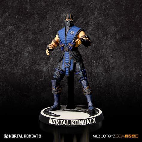 Mortal Kombat X Sub Zero 4 Figure Mezco Toyz