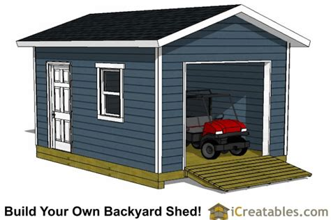 shed plans 12x16 12x16 shed plans with garage door icreatables