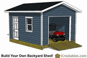 simple wood shed plans 7x12 enclosed hanike With 7x12 garage door