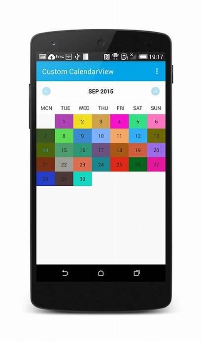 Calendar Android Library Custom Stacktips Github License