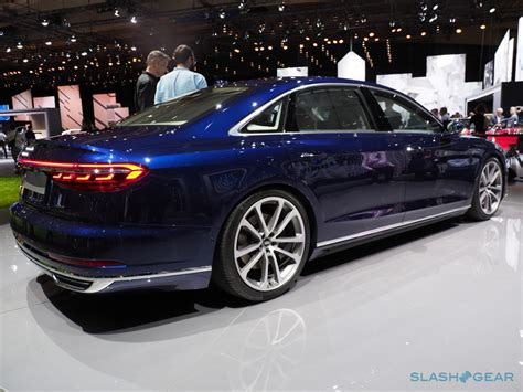 Meet The New 2019 Audi A8, A Self-driving Super-luxury