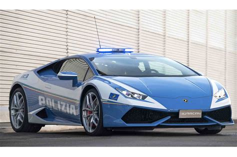 Lamborghini Car : You Couldn't Outrun This Lamborghini Huracan Police Car