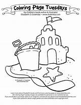 Sandcastle Coloring Drawing Sand Tuesday Castle Dulemba Cliparts Sandbox Draw Sandcastles Building Clipart Tire Getdrawings Library Guys Know Don Favorites sketch template
