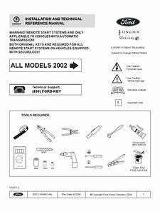Remote Start Installation Guide