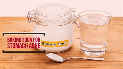 Baking Soda For Stomach Ache