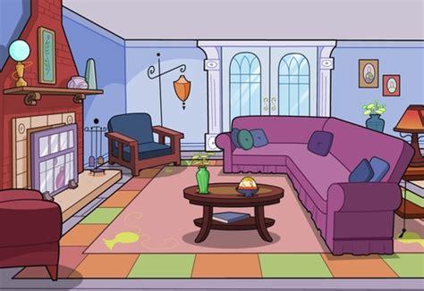 Living Room Cartoon Clip Art