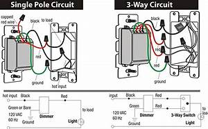 Cloudy Bay In Wall Dimmer Switch For Led Light  Cfl  Incandescent  3