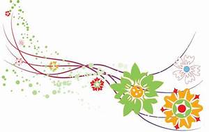 Abstract Flower Design Vector Graphic vector, free vector