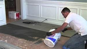 how to install backer board durock for floor tile youtube With backer board floor installation
