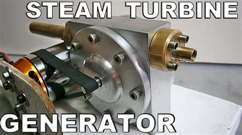 Steam / Air Turbine Generator Test