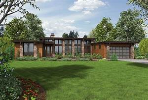 One Story House Plans With Basement Contemporary Ranch ...