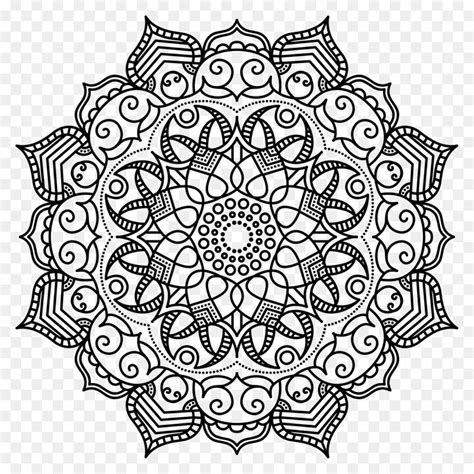 Kleurplaat Mandala Mexico by Mandala Coloring Book Meditation Pattern Mandala Png