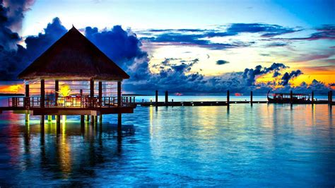 Tropical Bungalow Wallpapers For Android Apk Download