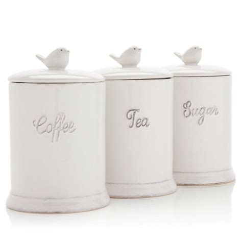 kitchen tea coffee sugar canisters gorgeous shabby chic tea coffee sugar jars next co uk