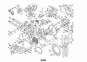 Healthrider Hrel05981 Elliptical Machine Parts