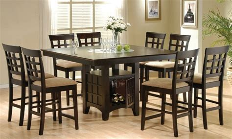 Bar Height Dining Room Table Sets High Table Dining Room