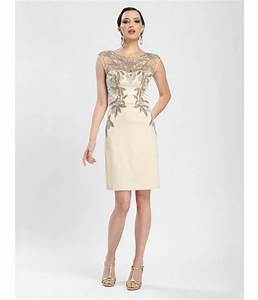 Champagne colored cocktail dresses