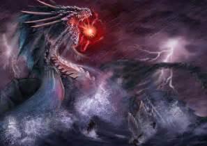 Water Elemental Dragon God