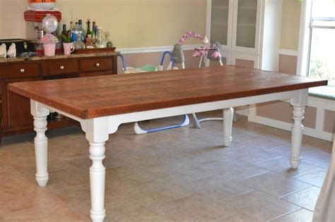kitchen table top ideas dining tables with white legs and wooden top dining room