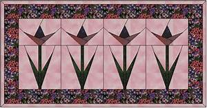 Tulip, Quilt patterns free and Quilt on Pinterest