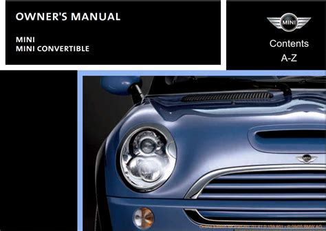 car owners manuals free downloads 2011 mini cooper countryman electronic valve timing mini cooper 2006 owner s manual pdf online download