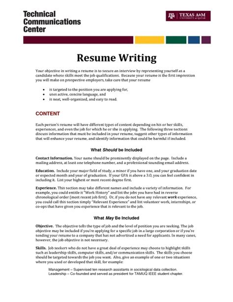 What To Look For In A Resume Writing Service by The Awesome What Should Your Resume Look Like Resume