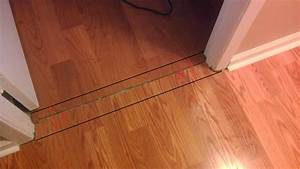 Laminate flooring transition strips for How to replace hardwood floor strips