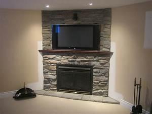 Owen Designs Stone Selex Of Toronto Presents Interior Stone Fireplace