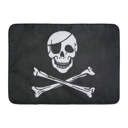jolly roger doormat kdagr jolly pirate flag closeup roger skull patch eye