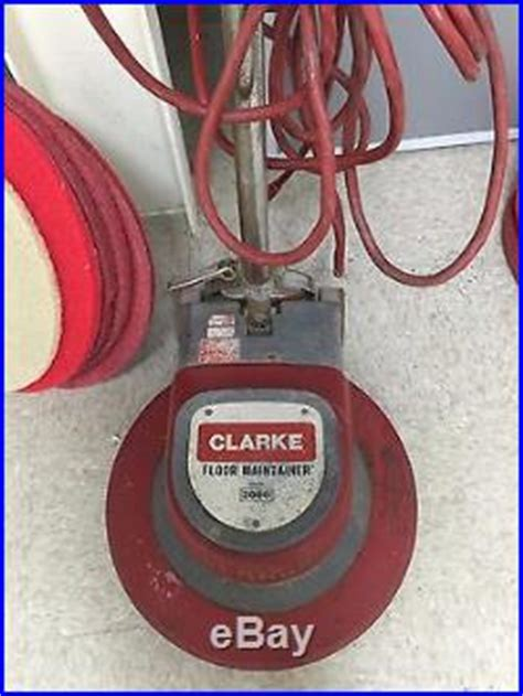 Clarke Floor Maintainer 2000 by Clarke Floor Maintainer 2000 Buffer 20 With Driver Pad