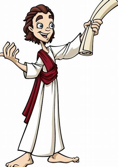 Jesus Temple Young Clipart Carpenter Goes Stool