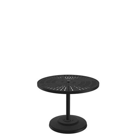 lastratta   kd pedestal dining umbrella table