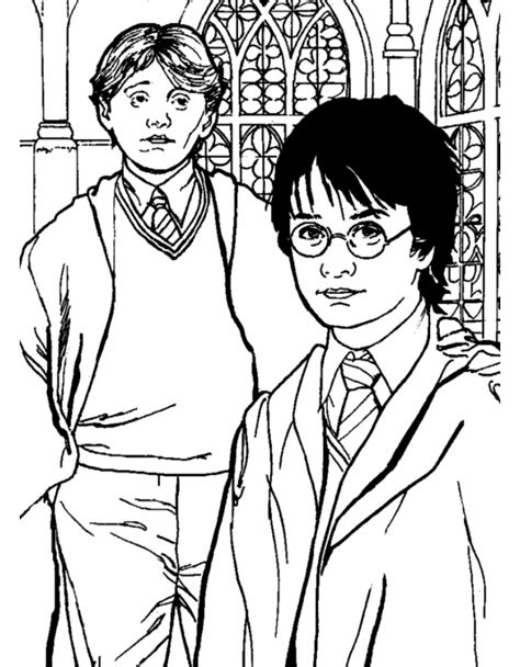 cose da stare di harry potter harry e weasley harry potter da colorare disegni da