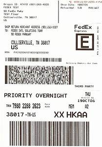 print fedex express label gnewsinfocom With express shipping label