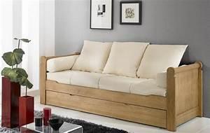 banquette lit gigogne aravis meubles With tapis d entrée avec banquette canapé lit