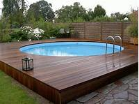 good looking pool patio design ideas Above ground pool decks – 40 modern garden swimming pool design ideas - YouTube
