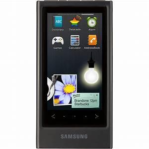 Samsung Yp P3 : samsung yp p3 mp3 player black yp p3jeb xaa b h photo video ~ Watch28wear.com Haus und Dekorationen