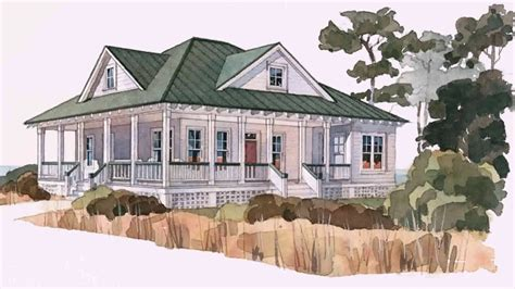 shaped house plans  wrap  porch youtube