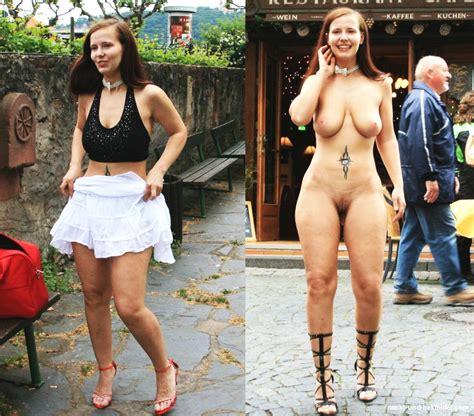 Nackt und ausgezogen
