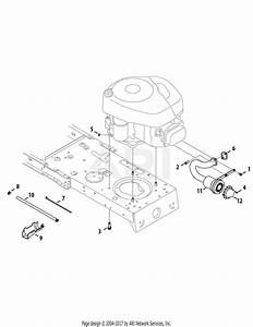 Mtd 13ac76lf055  2010  Parts Diagram For Engine Accessories